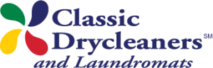 Classic Drycleaners and Laundromats Logo
