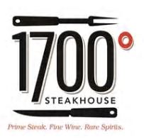 Hilton 1700 Steakhouse Logo