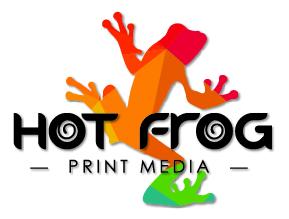 Hot Frog Print Media Logo